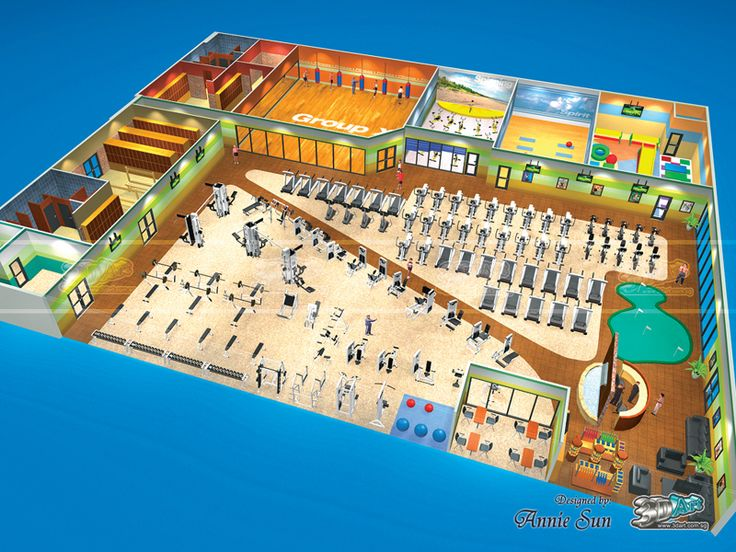 8 best images about 3d gym desings and gym plans on for Basketball gym floor plan