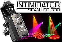 Chauvet Intimidator Scan LED 300 Compact Moving Yoke Scanner Lighting Effect