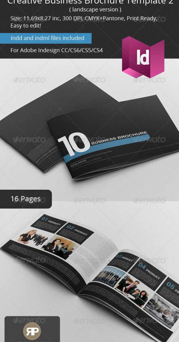 68 best Mock-ups images on Pinterest Free brochure, Brochure - landscape brochure