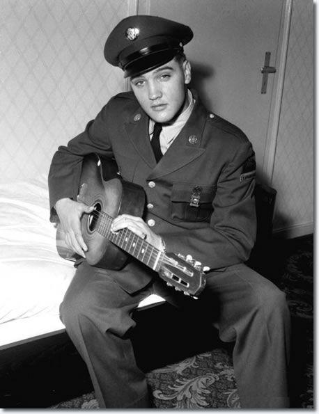 Elvis Presley : Ritters Park Hotel, Bad Homburg, Germany : First weekend of October 1958