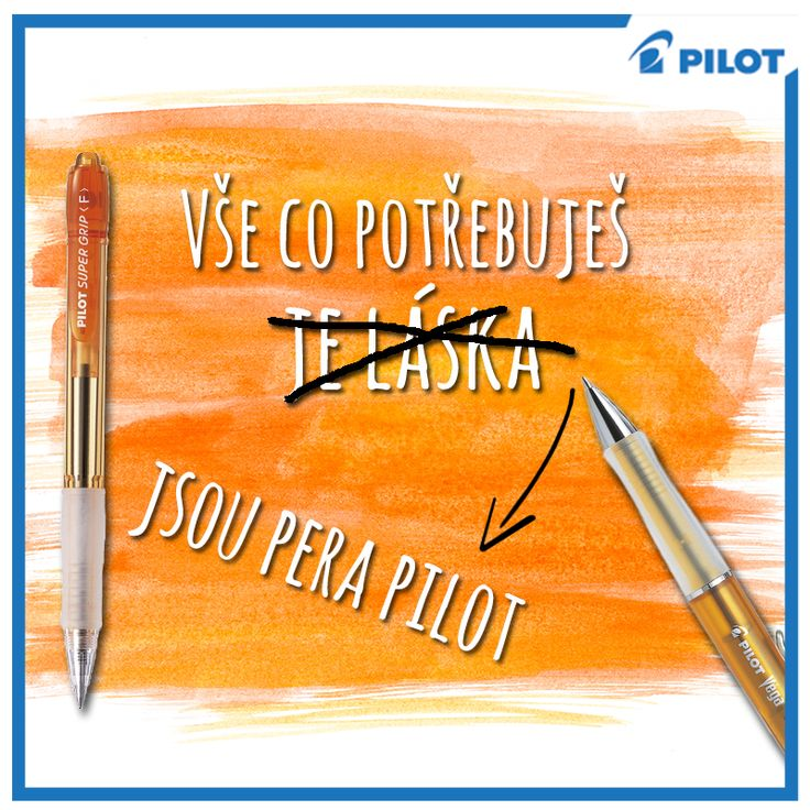 we #love #Pilot :) #happywriting