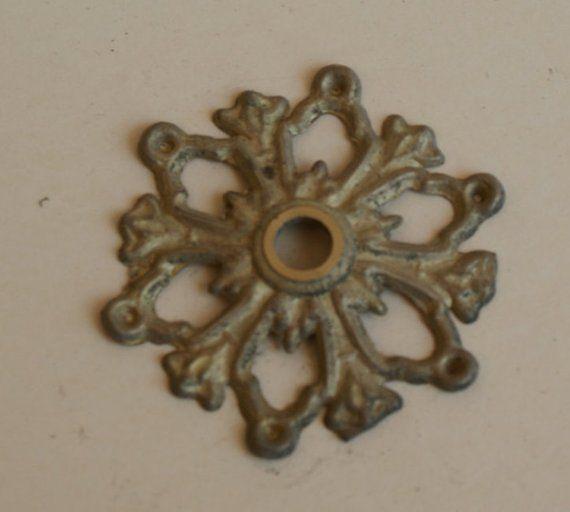 2 pz Filigrana in ottone grezzo per creare orecchini 6 cm Bobeches bobesh Brass
