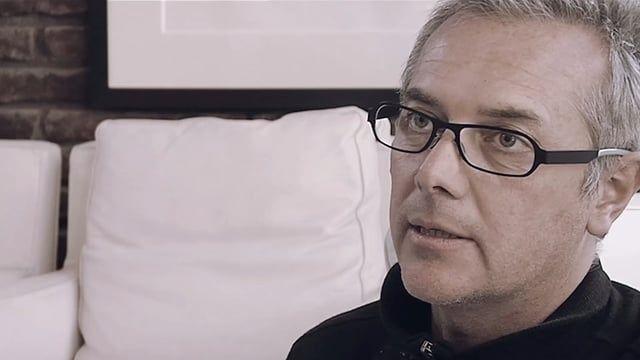 """Mathias klotz  Arquitecto del proyecto """"Mirador Barón""""    Entrevista realizada para la serie Valparaíso Inamible  valparaisoinamible.cl    Valparaíso, 2016"""