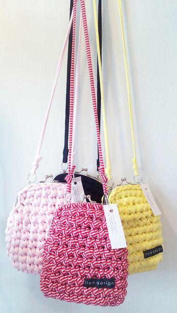 Crocheted purse by Iloa Design
