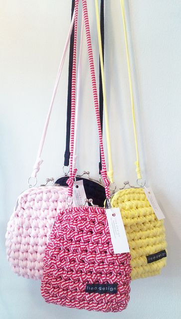 Crocheted purse by Iloa Design