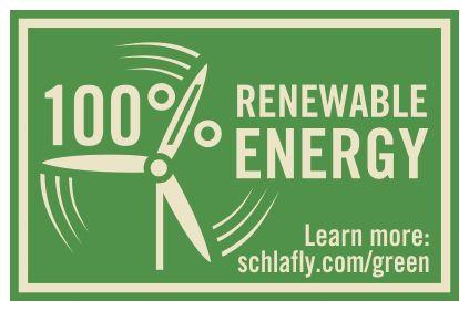 Schlafly Beer adds 100% renewable energy stamp to all packaging http://l.kchoptalk.com/1SSE7vu
