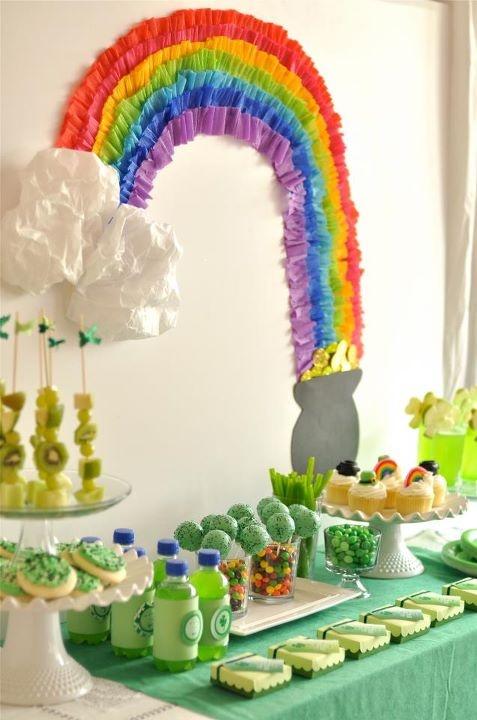St Patrick Day Play Date Party Ideas Love The Rainbow St. Patrick's Day #irish, #holidays, #pinsland, https://apps.facebook.com/yangutu