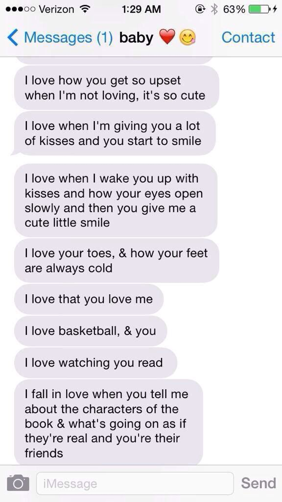 how to tell my boyfriend i love him over text