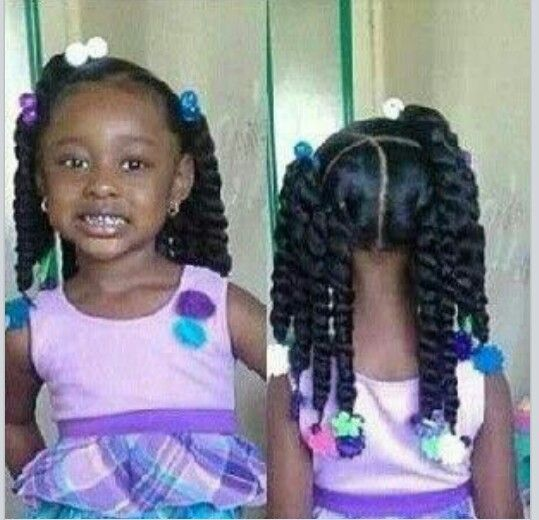 Excellent 1000 Images About Natural Kids Pig Ponytails On Pinterest Two Short Hairstyles For Black Women Fulllsitofus