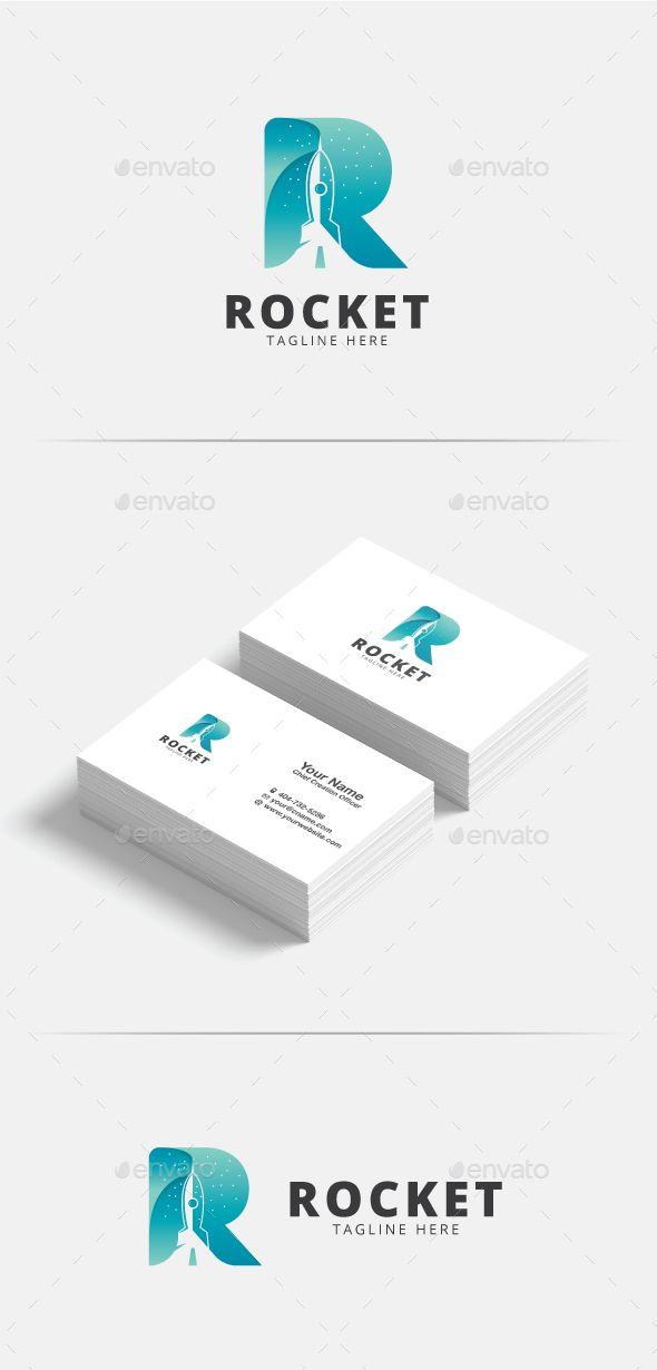 R Letter Rocket Logo - Letters Logo Templates Download here : https://graphicriver.net/item/r-letter-rocket-logo/20503352?s_rank=211&ref=Al-fatih