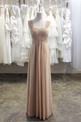 Princess Ruched Sweetheart Long Chiffon Evening Dress/Prom Dress With Straps ED-9198