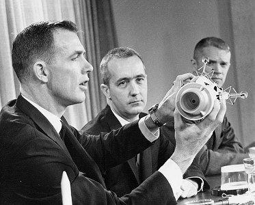 Apollo 9 crew: Dave Scott, Jim McDivitt, Rusty Schweickart ...