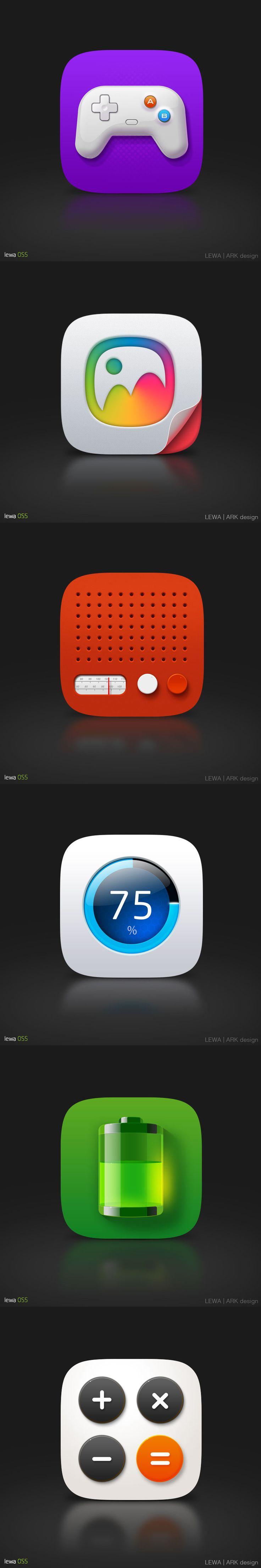Lewa OS5 icon by Chuan²