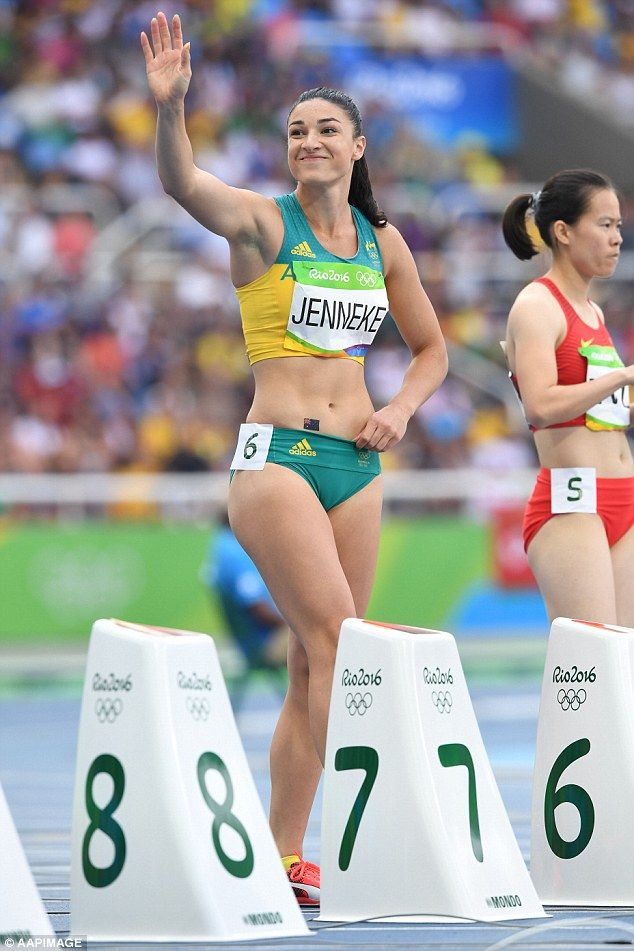 Michelle Jenneke before her Olympic debut http://ift.tt/2blF9EZ Love #sport follow #sports on @cutephonecases