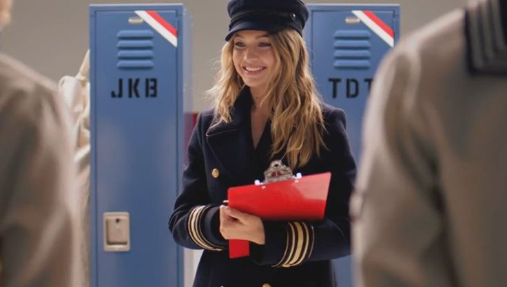 Gigi Hadid Is The Girl in Tommy Hilfiger's New Fragrance Ad: Gigi Hadid proves she's just as cheeky as she is gorgeous in a new campaign for Tommy Hilfiger's latest fragrance, The Girl.