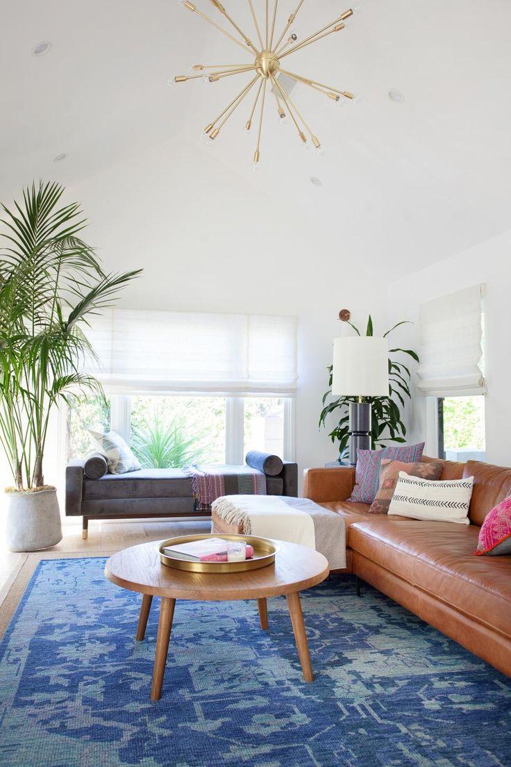 Best Royal Blue Rug Defines Contemporary Living Room Modern 400 x 300