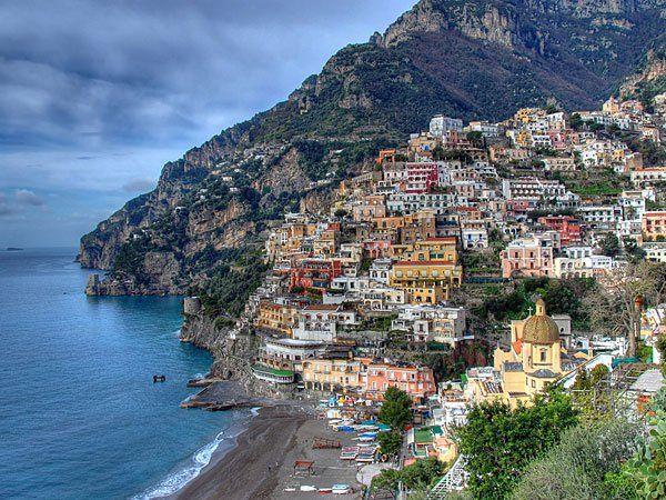 Pobrežie Amalfi ako vysnívaná dovolenka