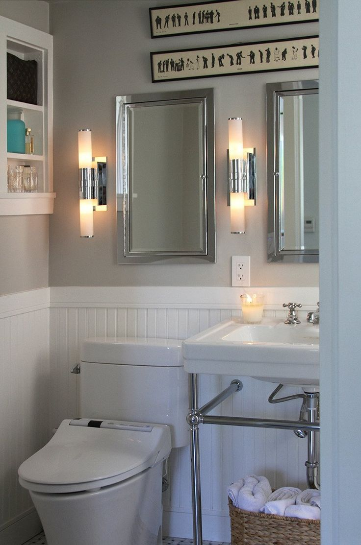 Toto toilets apartment therapy - Classic Wainscoting In The Bathroom Bathroom Wainscoting Classic White Clean