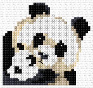 Lesley Teare's panda design