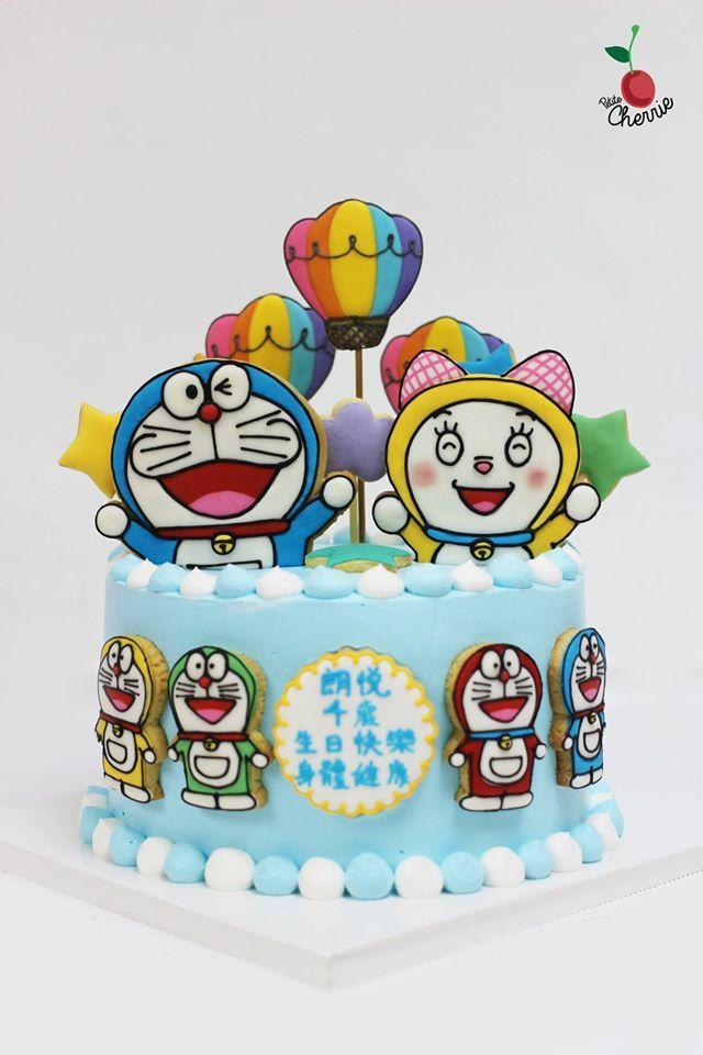 Doraemon & Dorami Birthday Cake Doraemon cookies