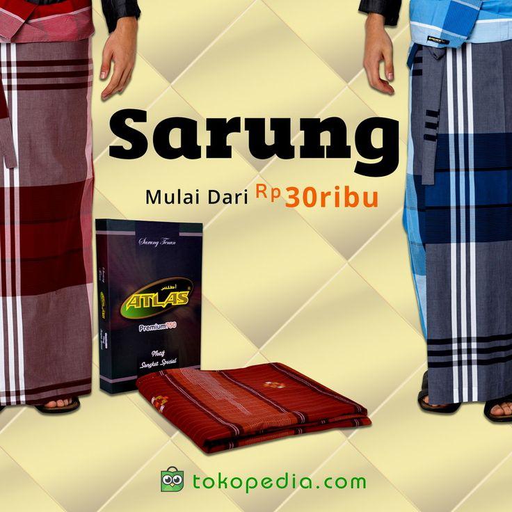 Sarung adalah atribut wajib untuk beribadah bagi pria Muslim. Ingin memakai Sarung yang beda saat Idul Fitri nanti? Yuk beli berbagai jenis Sarung, mulai dari Rp 30.000,- di https://www.tokopedia.com/hot/sarung