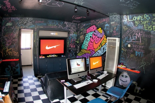 14 best office setups images on pinterest office for Cool office setups