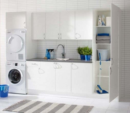 17 best images about vaskerom on Pinterest  Washers, Shelves and Base ...