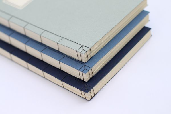 Classic Book Series by Jesper Olsson, Japanese stab binding. I dont love his craft, but if we were able to get insanely clear lines, I would love this