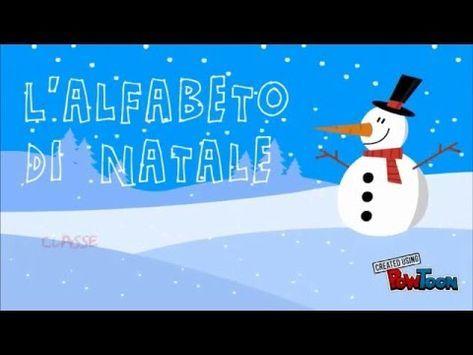 Lalfabeto Del Natale Youtube Canzoni Di Natale Christmas