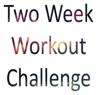 Two Week Workout Challenge. This is perfect, it's broken down into days and all the exercises are written out really well.