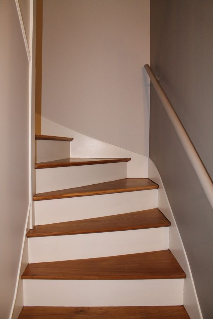 25 best ideas about escalier bois on pinterest for Peinture marche escalier