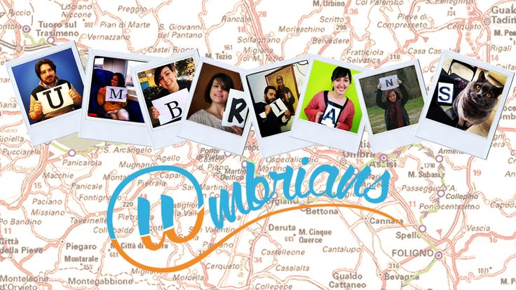 Meet the #Umbrians team, a professional network of young people who promote their country through social media. I'm very proud of all of us!