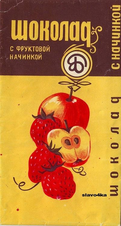 Soviet chocolate wrappers