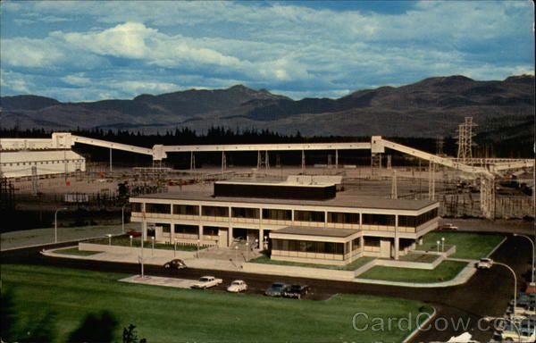 The Administrative Building of the Aluminum Company of Canada Ltd Kitimat