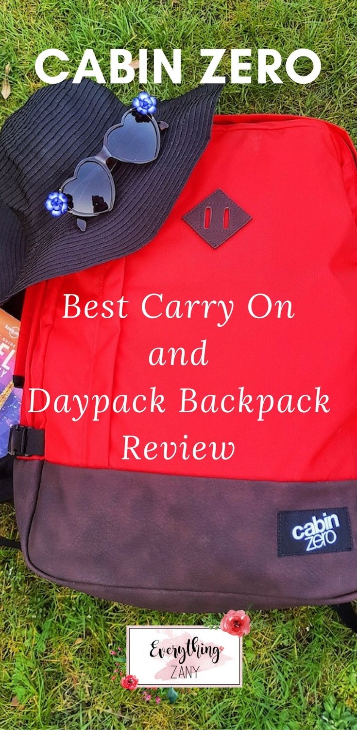 #CabinZero #Backpack | Cabin Zero Best Carry On and Daypack Backpack Review | Here is a Cabin Zero Travel Backpack review, best carry on and daypack when you're travelling!  A backpack is an essential gear for every traveller to make our journey easier. I recently travelled to Asia and tested the new travel backpack from Cabin Zero.