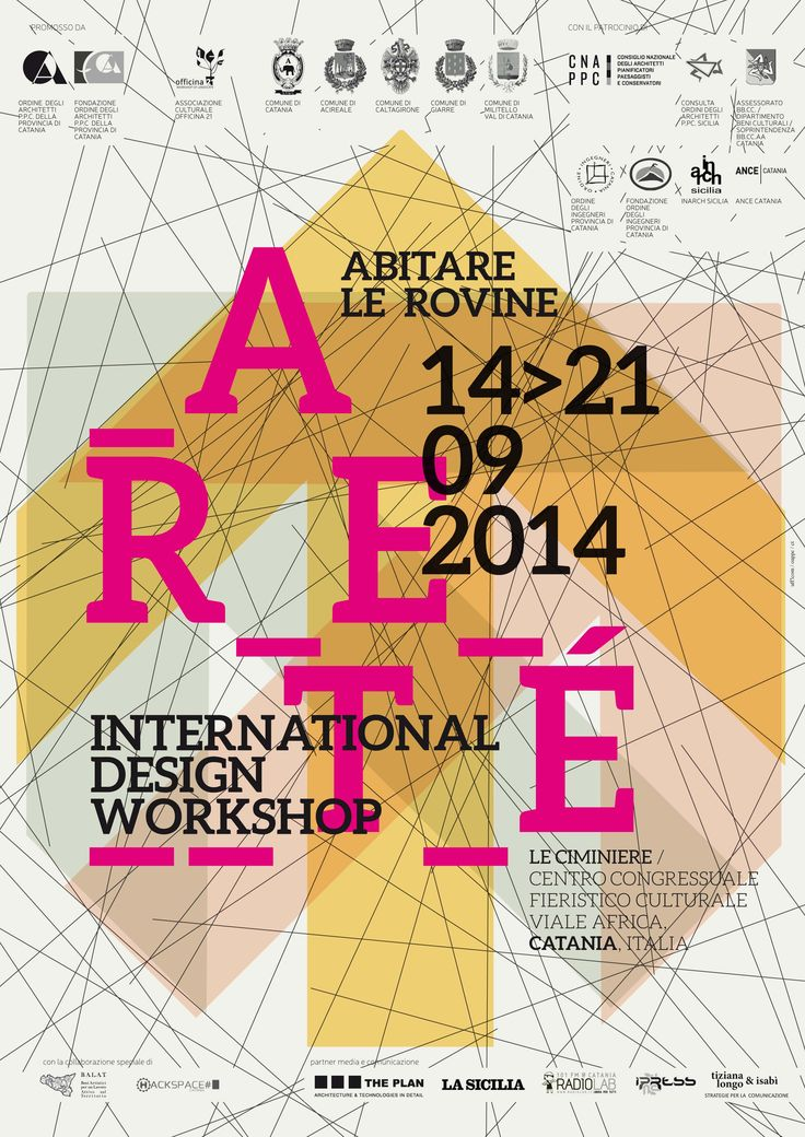 """ANNOUNCEMENT   """"Aretè   abitare le rovine"""" is an international workshop about the renovation of architecture, landscape and urban environments in the context of the city and contemporary territories http://bit.ly/1q8dIe1"""