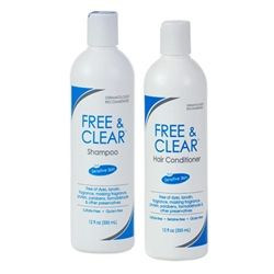 Free And Clear Shampoo For Sensitive Skin Plus Conditioner - Combo Kit