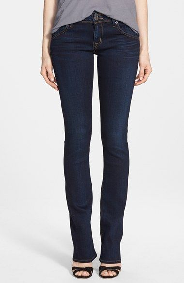 Hudson Jeans 'Elysian Beth' Baby Bootcut Jeans (Oracle) available at #Nordstrom