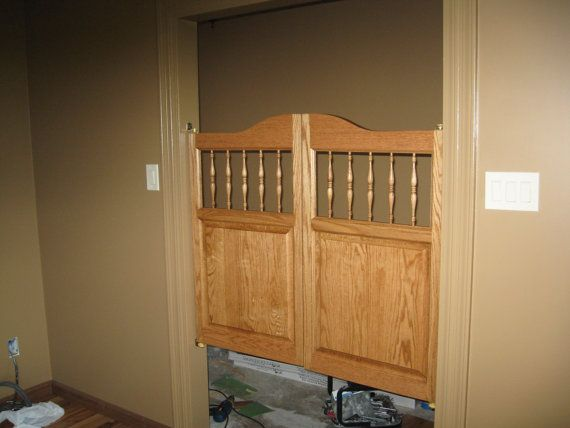 Custom Solid Oak Western Cafe Doors / Saloon by SwingingCafeDoors, $359.99