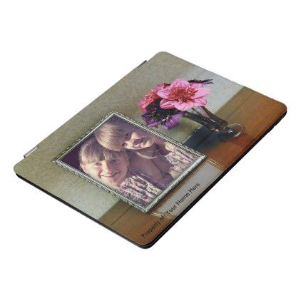 Picture Frame iPad Case - floral style flower flowers stylish diy personalize