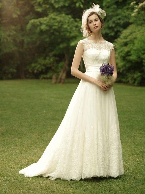 グランマニエのウエディングドレス|ルーナ
