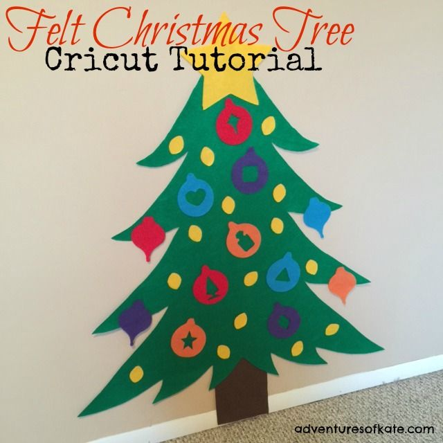 yes you can cut felt with your cricut even the expressions ii diy felt tree