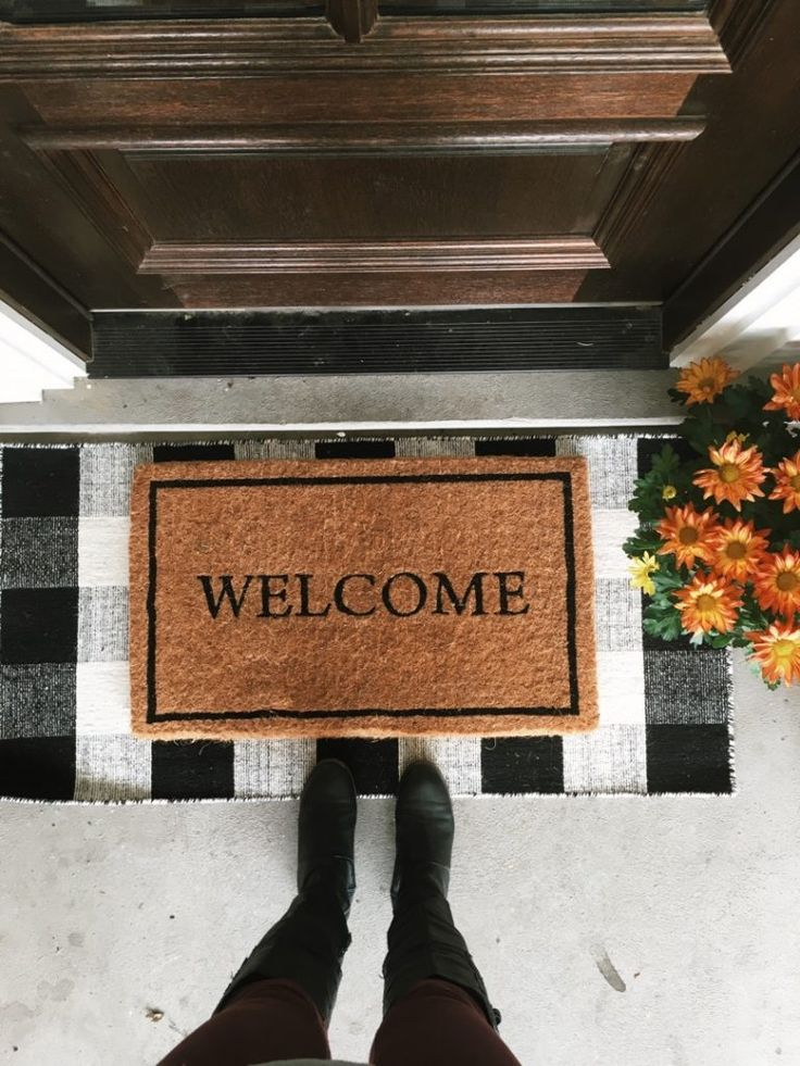 Mix And Match Layered Doormat Options + A Podcast Update & Best 25+ Front door rugs ideas on Pinterest | Rug placement Rugs ... pezcame.com