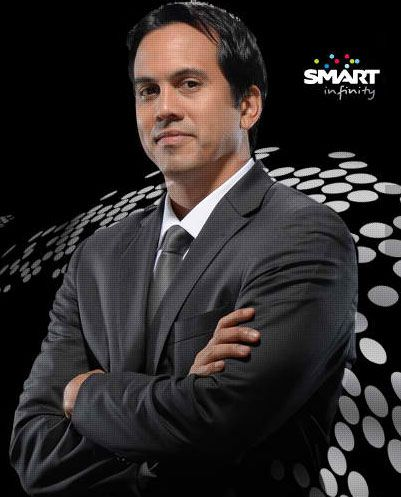 Coach Erik Spoelstra is the first Filipino Asian-American head coach in the history of the four major American sports leagues; and now, the newest brand ambassador of Smart Infinity. Description from angsawariko.com. I searched for this on bing.com/images