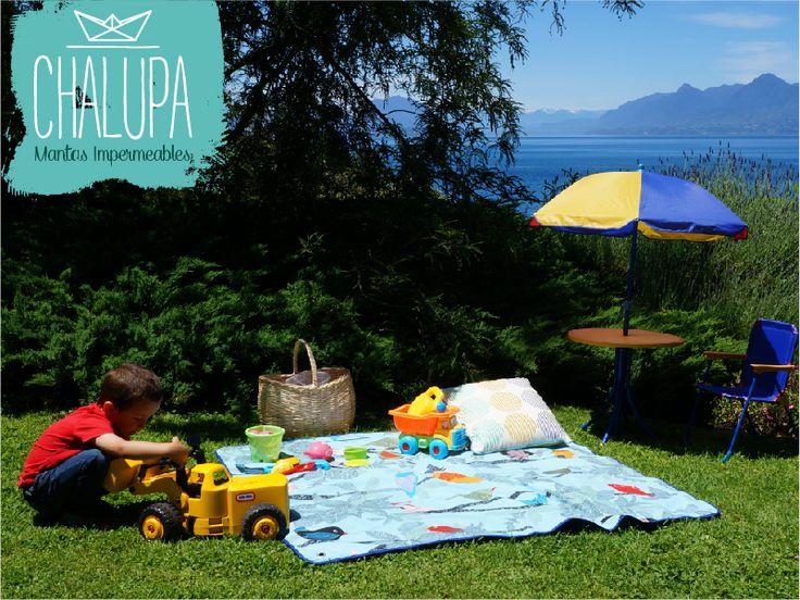 Lo mejor del verano! Mantas impermeables para disfrutar en la playa, parques, campo... / Manta de pajaritos
