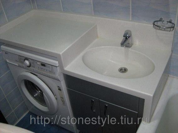 Столешница в ванную комнату из искусственного камня, цена, купить в Иркутске — Tiu.ru (ID#6042977)