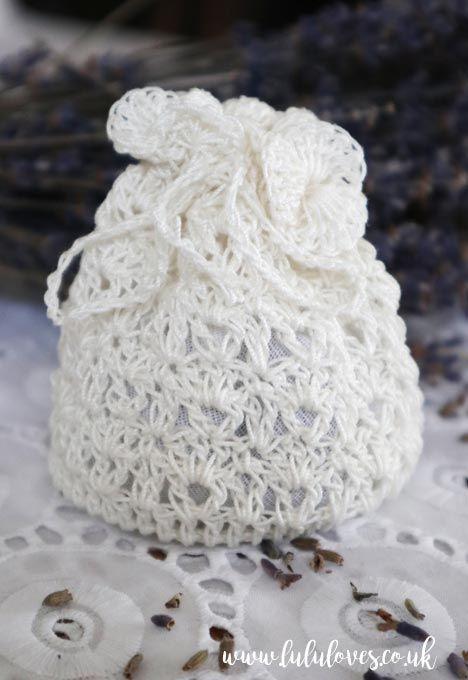 Free Crochet Pattern - Crochet Lavender Sachet   Lululoves Blog ...