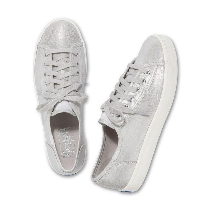 Keds Sneaker Kickstart Metallic Linen #baur #sneaker #sneakers #metallic #mode #schuhe #outfit