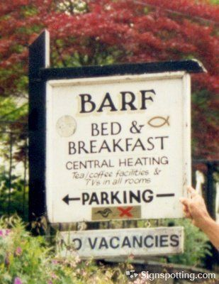 funny bed and breakfast names 2