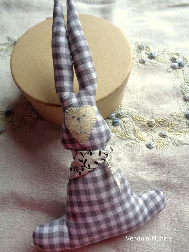 Textil nyuszi